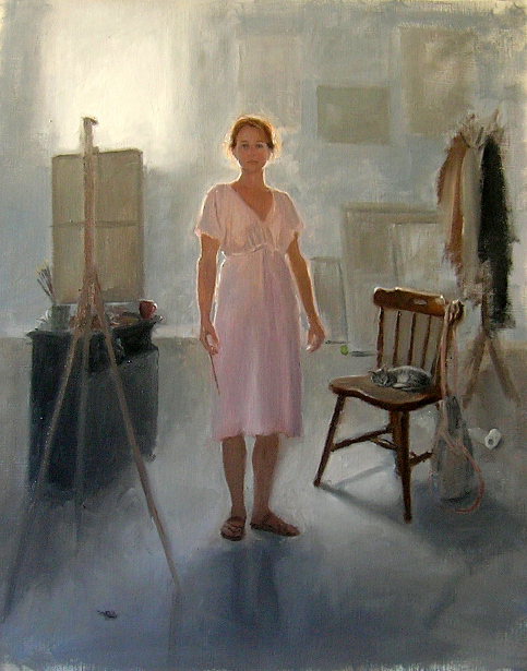Self Portrait In Studio, 2010