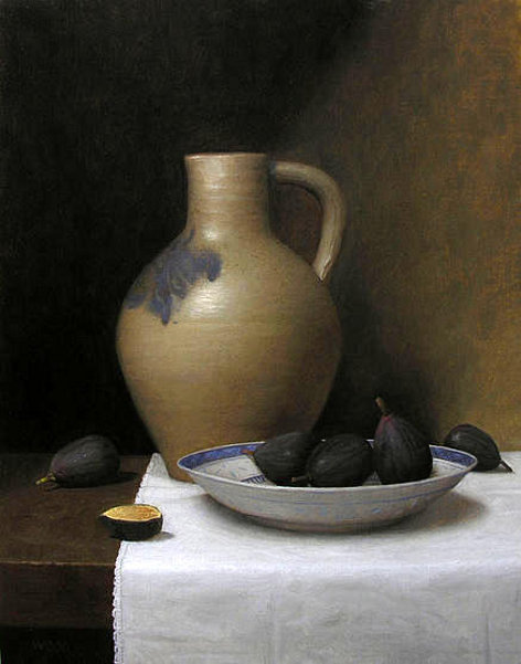 Still Life With Jug And Figs