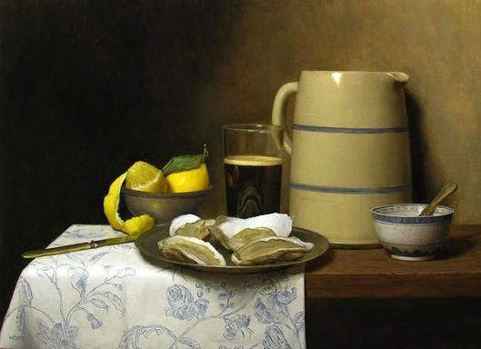 Still Life With Oysters And Lemons