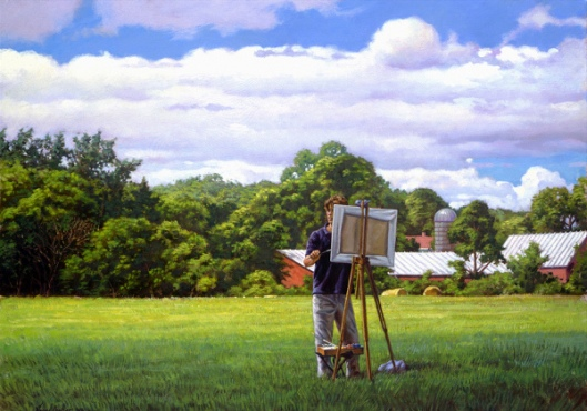 Young Landscape Painter