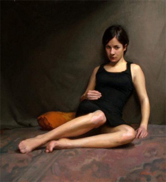 A Moment's Reflection - Portrait Of Valentina