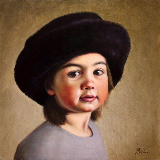 Girl In Fur Hat (The Artist's Daughter)
