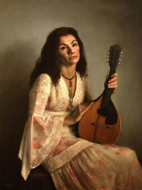 Girl With A Mandolin