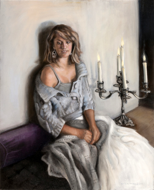 Girl With Candelabra