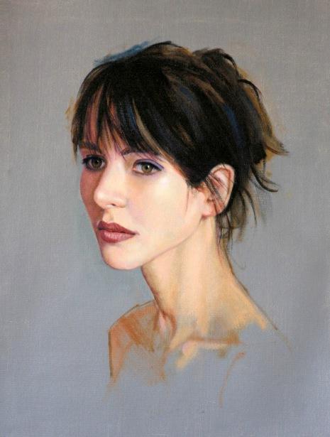 Head Study, Sophie Marceau