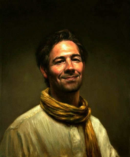Self-Portrait With Yellow Scarf