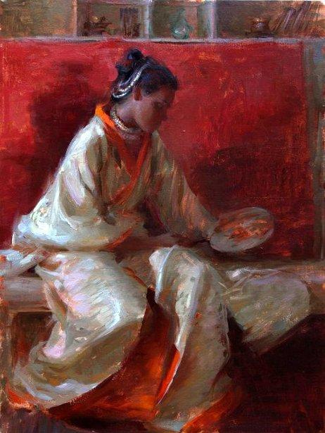 Sri In Kimono