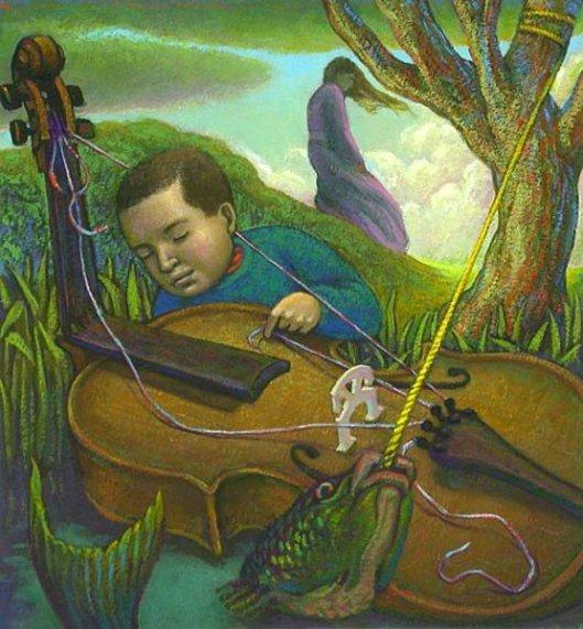 The Flotsam Cello