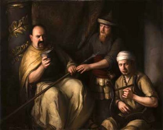 The Madness Of King Saul