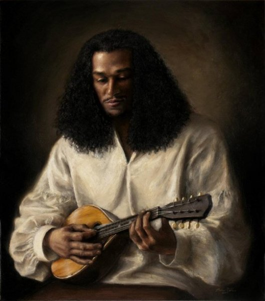 The Mandolin Player
