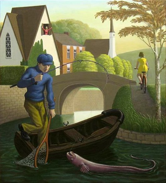 The Canal Fisherman