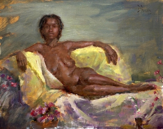 Nude Of Young Woman