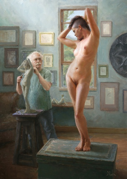 The Sculptor And His Muse