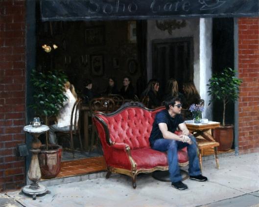 Cafe In Soho