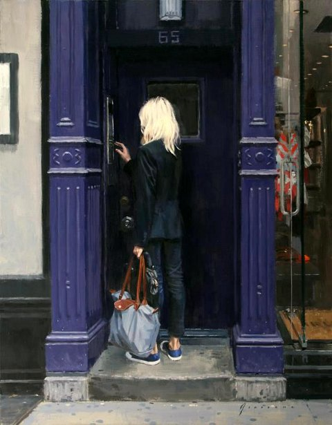 Purple Doorway