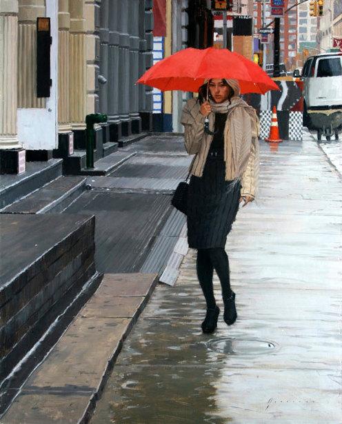 Rain In Soho