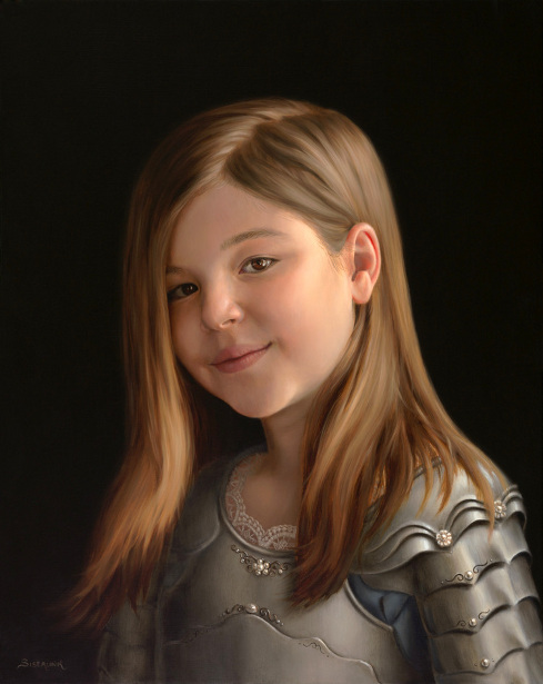 Tate, Age 9