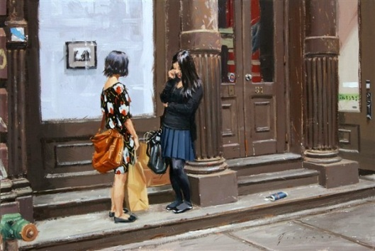 Two Girls On Greene Street