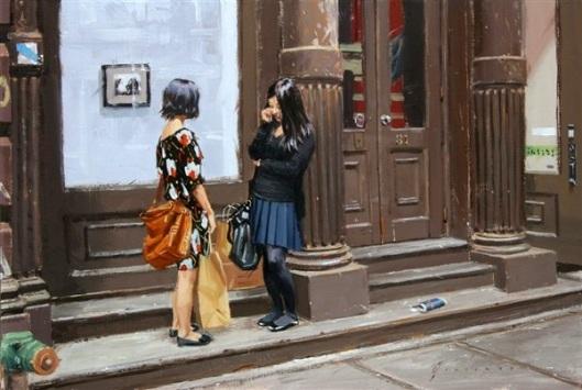Two Girls On Greene Street