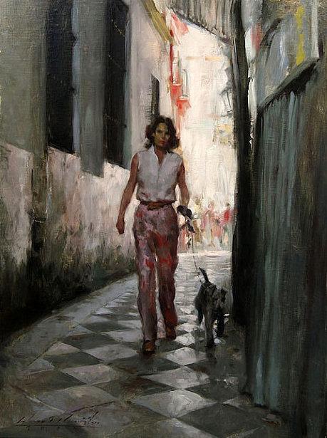 Alley, Barcelona