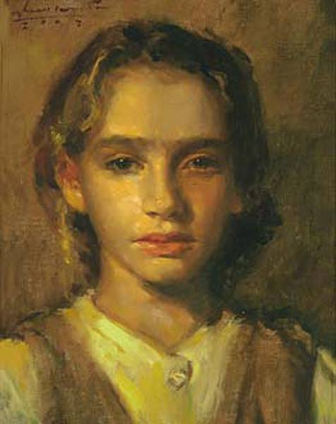 Child In Golden Light