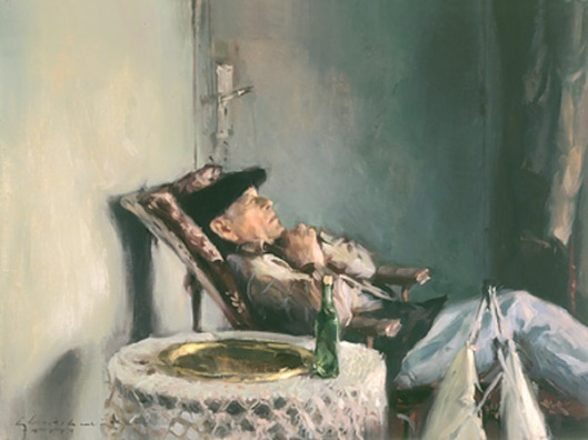 Frenchman Napping, Vichy