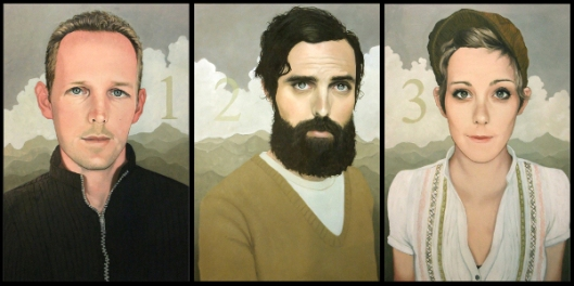 Northon Siblings Triptych