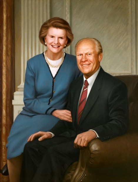 President Gerald Ford And Mrs. Betty Ford