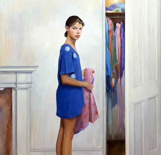 Bettina At The Closet