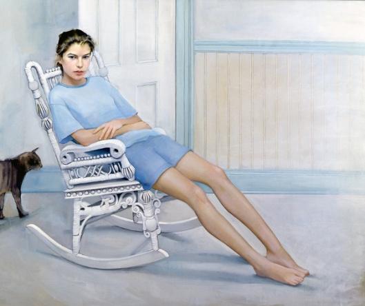 Bettina In Rocking Chair