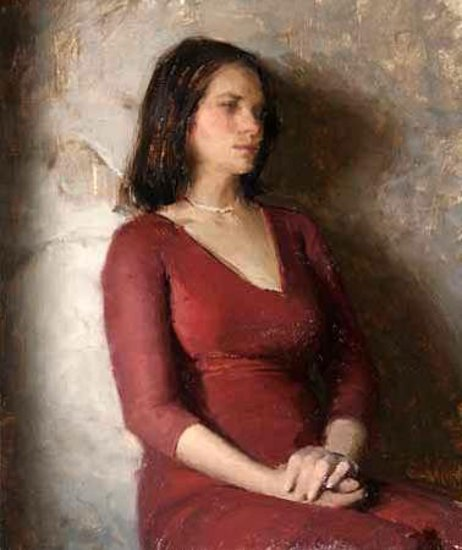 Severine Girl In The Red Dress