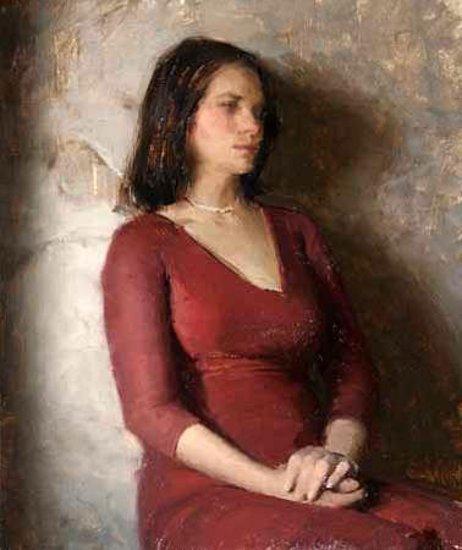 Severine Girl In The Red Dress
