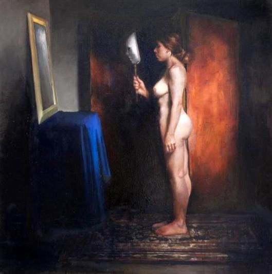 Woman Before Mirror