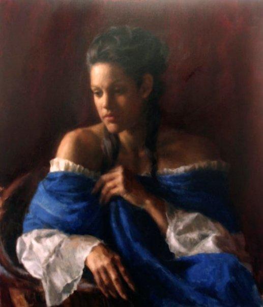 Toni In Blue