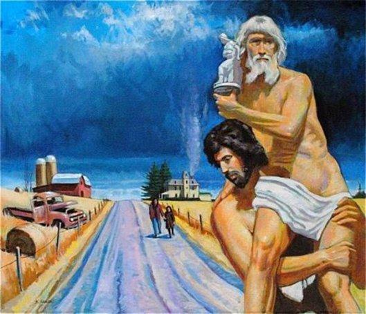 Aeneas & Anchises