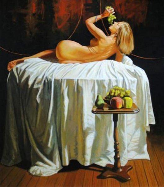 Bacchante - Allegory Of The Sense Of Taste