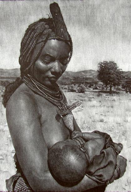 Himba Wet Nurse