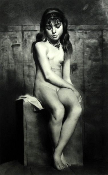 Nude Girl After Henrique Pousão
