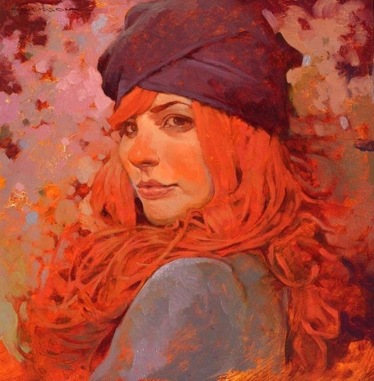 Red Head Beret