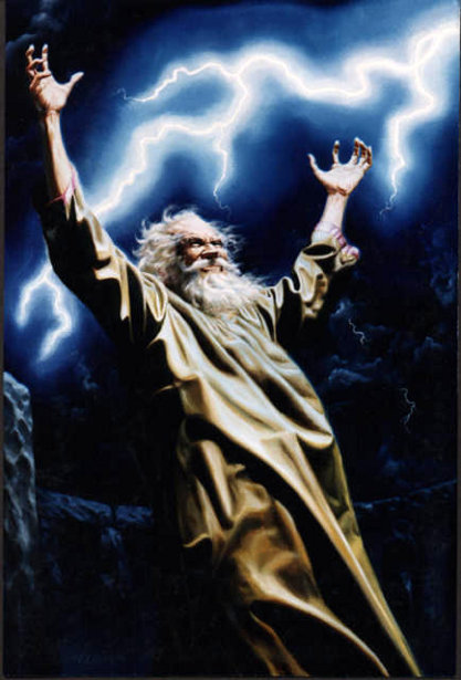 Allegory Of Power (The Wizard)