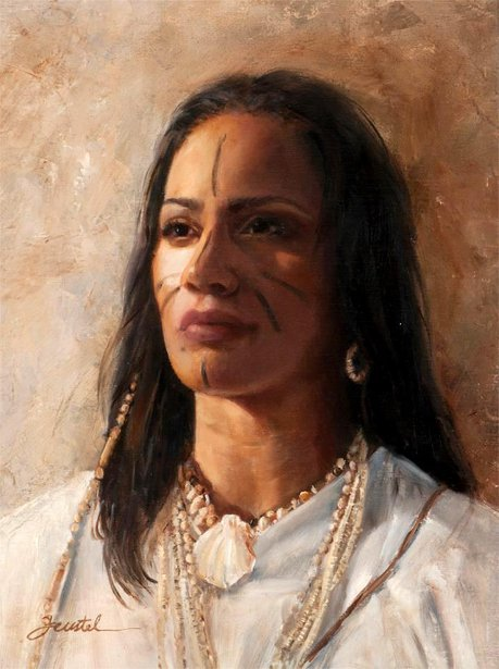 Brave Spirit Of The Dawn - Taino Woman