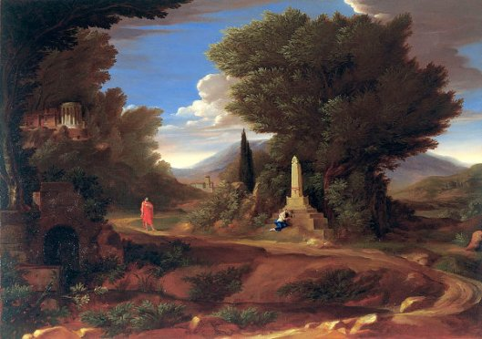 Capriccio With A Tomb