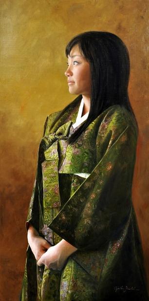 Green Hanbok
