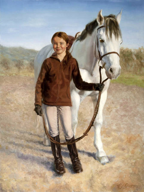 Hayley Jacquin With Pony