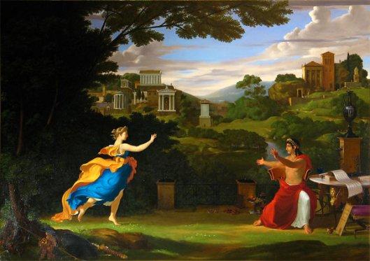 Landscape With Quirinus And Hora