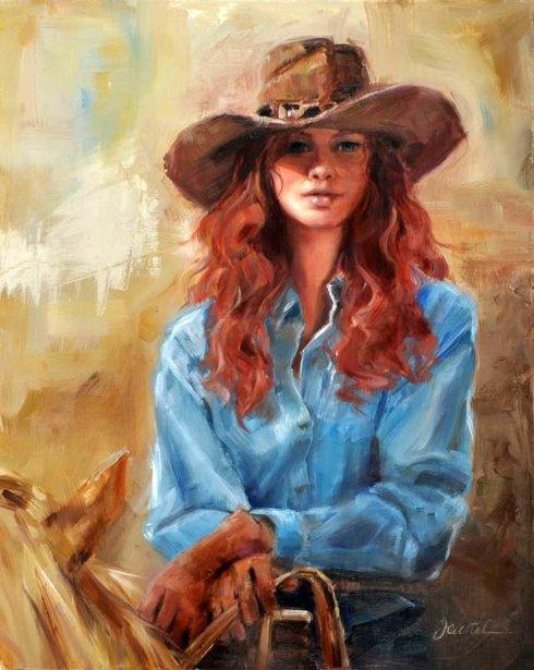Redheaded Cowgirl