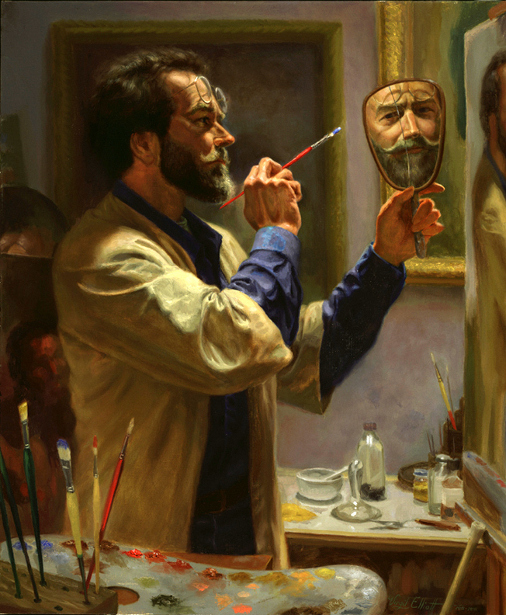 Self Portrait With Two Mirrors