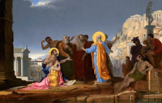 St. Paul Preaching On The Areopagus