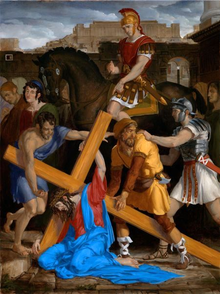 Stations Of The Cross 5