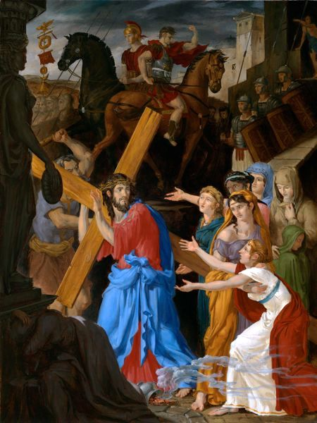 Stations Of The Cross 8